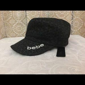Bebe Black Cadet Hat